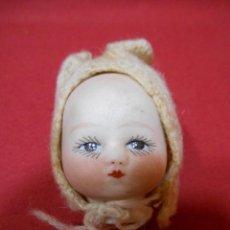 Muñecas Porcelana: ANTIGUA CABEZA DE PORCELANA BISCUIT DE NIÑO SELLADA 15/0 .. Lote 109455587