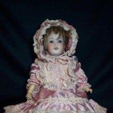 Muñecas Porcelana: MUÑECA. CARA DE BISCUIT. TREBOR. 22 POM. ALEMANIA. 45 CM.. Lote 110653727