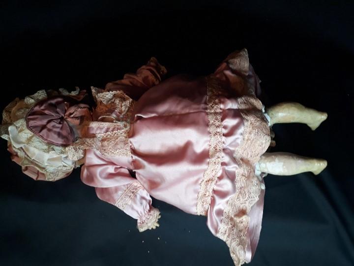Muñecas Porcelana: MUÑECA. CARA DE BISCUIT. TREBOR. 22 POM. ALEMANIA. 45 CM. - Foto 10 - 110653727