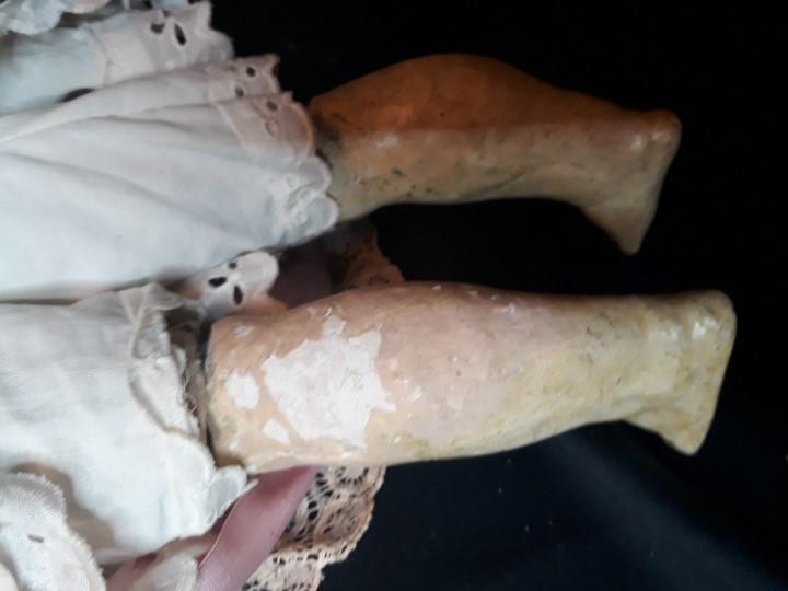 Muñecas Porcelana: MUÑECA. CARA DE BISCUIT. TREBOR. 22 POM. ALEMANIA. 45 CM. - Foto 12 - 110653727