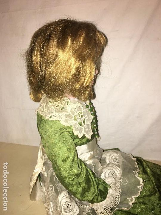 Muñecas Porcelana: ANTIGUA MUÑECA ALEMANA GERMANY CABEZA NUMERADA EN PORCELANA CUERPO ARTICULADO MADERA S.XIX, 58 CMTS - Foto 11 - 112159179