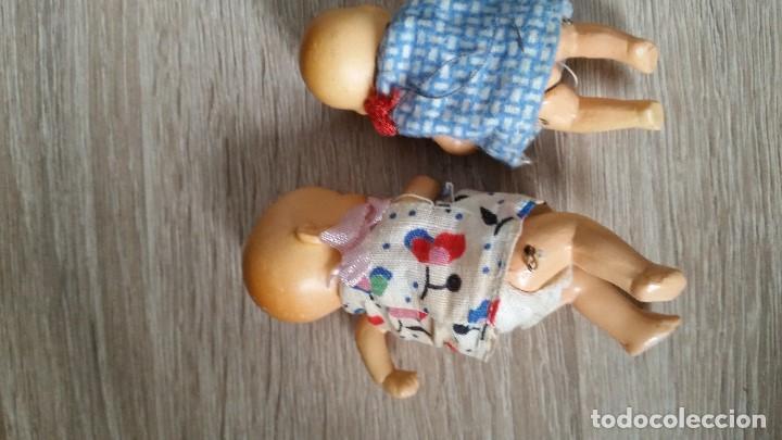 Muñecas Porcelana: ANTIGUAS MUY ARMOSAS MONEQUITAS BEBES EN PORCELANA ARTICULADAS MADE GERMANY ANOS 20,30 - Foto 8 - 112785227