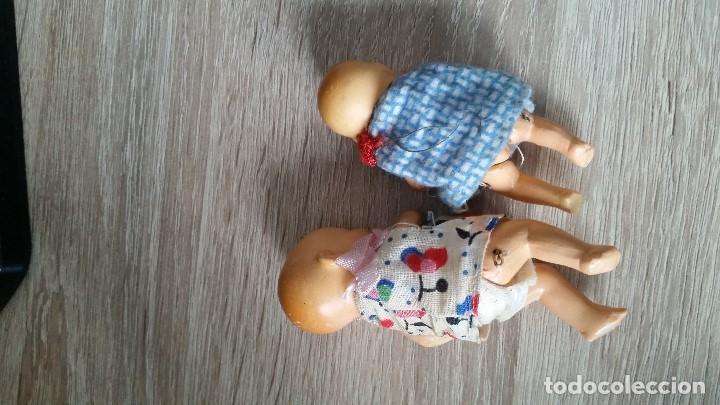 Muñecas Porcelana: ANTIGUAS MUY ARMOSAS MONEQUITAS BEBES EN PORCELANA ARTICULADAS MADE GERMANY ANOS 20,30 - Foto 9 - 112785227