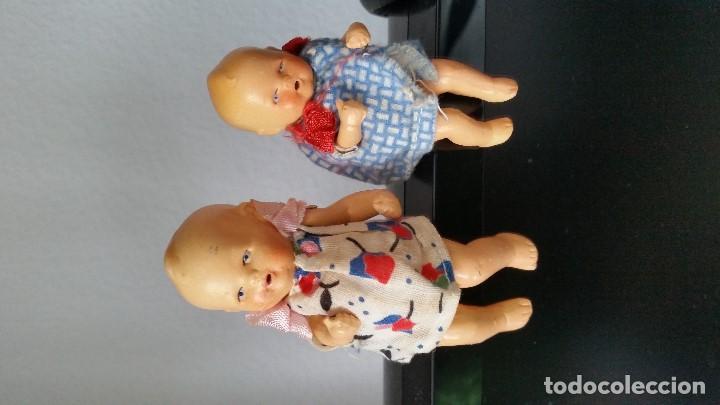 Muñecas Porcelana: ANTIGUAS MUY ARMOSAS MONEQUITAS BEBES EN PORCELANA ARTICULADAS MADE GERMANY ANOS 20,30 - Foto 13 - 112785227