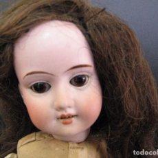Muñecas Porcelana: ANTIQUE 35 CM. GEBRUDER KNOCH BISQUE SOCKET HEAD DOLL # 201/ MUÑECA ANTIGUA ALEMANA DE PORCELANA. Lote 114666439