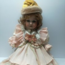Muñecas Porcelana: MUÑECA PORCELANA A.M. GERMANY. Lote 114912655