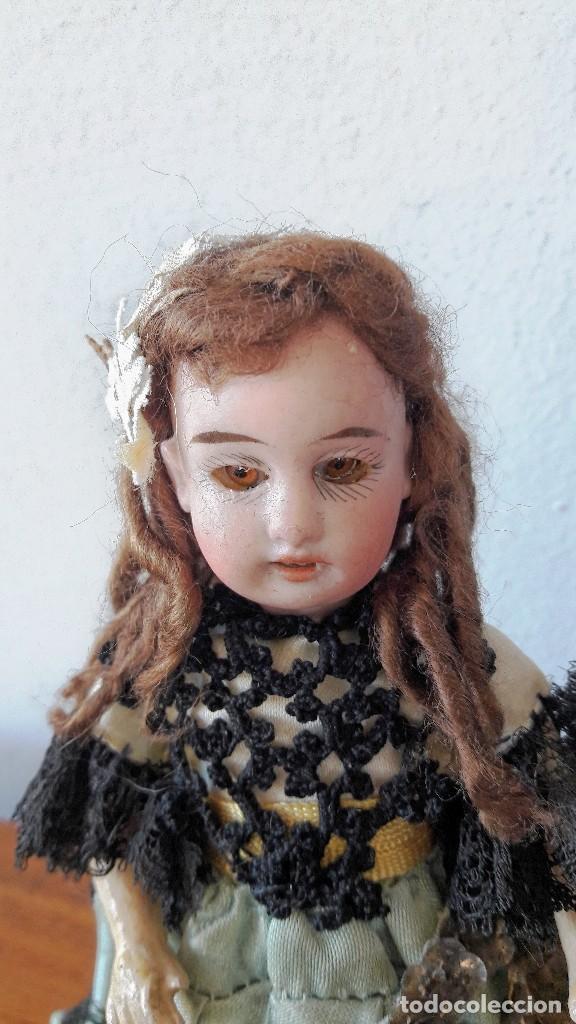 Muñecas Porcelana: Muñeca antígua. Cabeza de biscuit - Foto 2 - 115891119