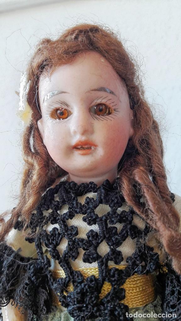 Muñecas Porcelana: Muñeca antígua. Cabeza de biscuit - Foto 3 - 115891119
