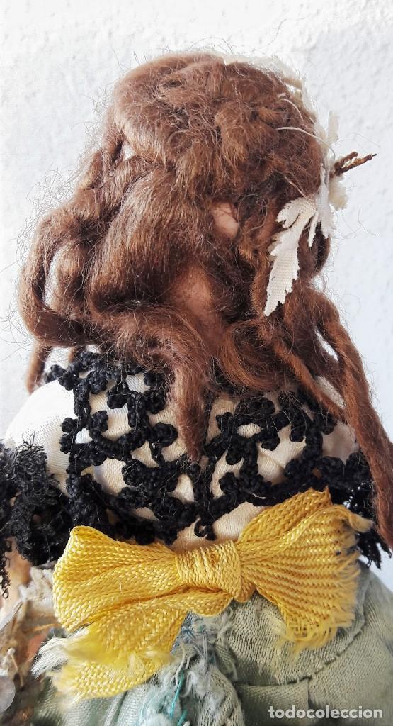 Muñecas Porcelana: Muñeca antígua. Cabeza de biscuit - Foto 8 - 115891119