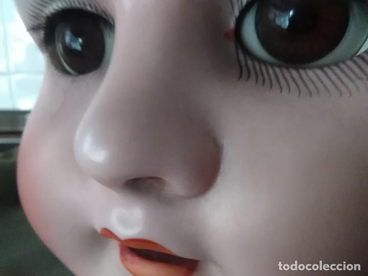 Muñecas Porcelana: Muñeca alemana, porcelana marcada y numerada, - Foto 9 - 116094283