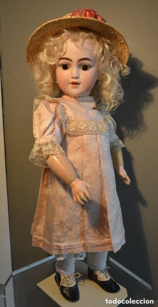 Muñecas Porcelana: ANTIGUA MUÑECA SIMON HALBIG 1249 MODELO SANTA - Foto 2 - 116423075