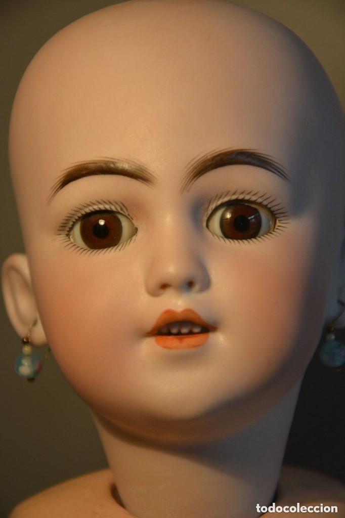 Muñecas Porcelana: ANTIGUA MUÑECA SIMON HALBIG 1249 MODELO SANTA - Foto 4 - 116423075