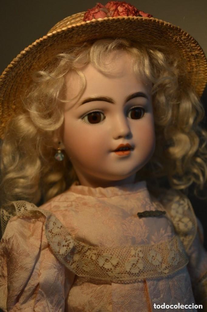 Muñecas Porcelana: ANTIGUA MUÑECA SIMON HALBIG 1249 MODELO SANTA - Foto 7 - 116423075