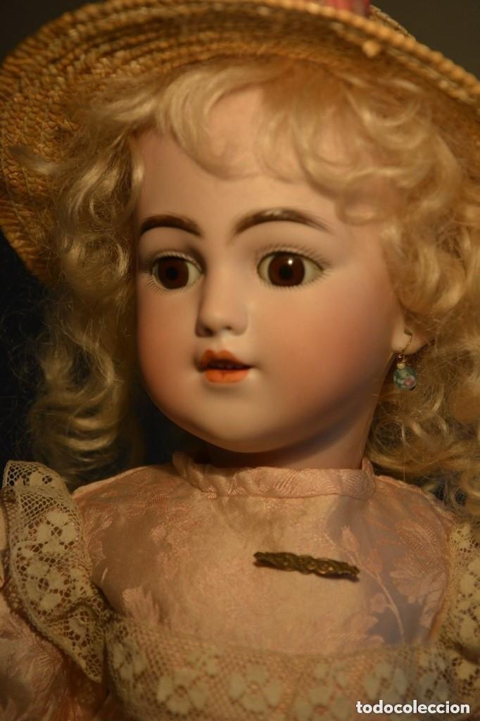 Muñecas Porcelana: ANTIGUA MUÑECA SIMON HALBIG 1249 MODELO SANTA - Foto 8 - 116423075