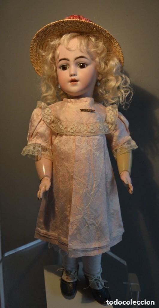 Muñecas Porcelana: ANTIGUA MUÑECA SIMON HALBIG 1249 MODELO SANTA - Foto 9 - 116423075