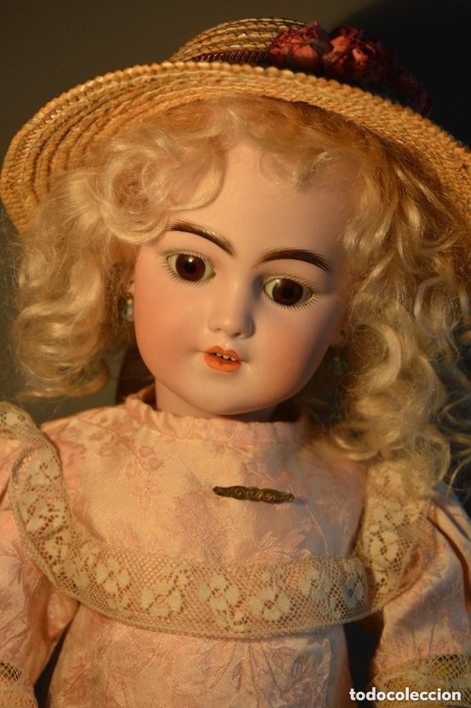 Muñecas Porcelana: ANTIGUA MUÑECA SIMON HALBIG 1249 MODELO SANTA - Foto 10 - 116423075
