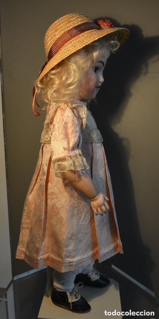 Muñecas Porcelana: ANTIGUA MUÑECA SIMON HALBIG 1249 MODELO SANTA - Foto 11 - 116423075