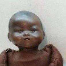 Muñecas Porcelana: MUÑECO DE PORCELANA ALEMAN NEGRITO. Lote 117919631