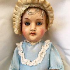 Bonecas Porcelana: MUÑECA ALEMANA ANTIGUA. Lote 118150451