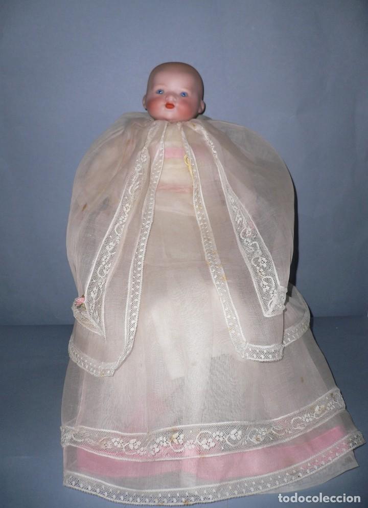 Muñecas Porcelana: Muñeco bebe porcelana marcado M.B.GERMANY 500/0 Simon Halbig - Foto 3 - 119196059