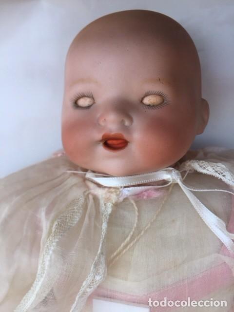 Muñecas Porcelana: Muñeco bebe porcelana marcado M.B.GERMANY 500/0 Simon Halbig - Foto 4 - 119196059