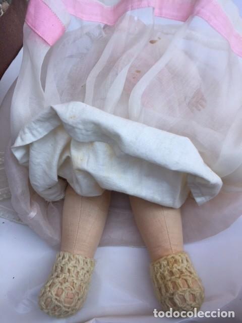 Muñecas Porcelana: Muñeco bebe porcelana marcado M.B.GERMANY 500/0 Simon Halbig - Foto 5 - 119196059