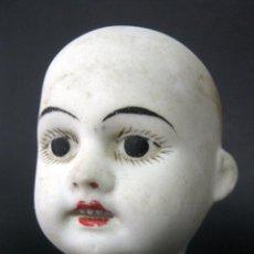 Muñecas Porcelana: ANTIGUA CABEZA MUÑECA DE PORCELANA SELLO 11/0. Lote 120572923