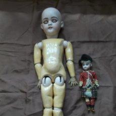 Muñecas Porcelana - Antiguas muñecas alemanas - 120816571