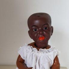 Muñecas Porcelana: RARISIMO BEBE KAISER NEGRO. Lote 121340718