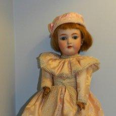 Muñecas Porcelana: BONITA MUÑECA CON CABEZA DE PORCELANA, ALEMANIA AÑOS 20- MARCAS EN LA NUCA 109- 7 1/2 GERMANY HANDW. Lote 122600547