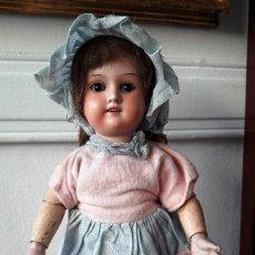 Muñecas Porcelana: MUÑECA ALEMANA ARMAND MARSEILLE. CABEZA DE BISCUIT.. Lote 122744911