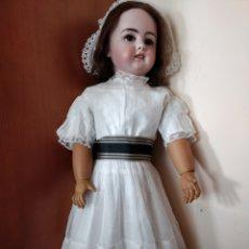 Muñecas Porcelana: ENORME MUÑECA ANTIGUA DEP TALLA 14, 83 CM. Lote 122815406