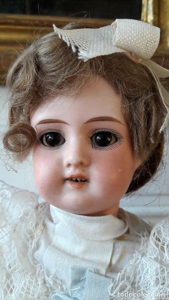 Muñecas Porcelana: Muñeca Florodora de Armand Marseille. Cabeza de biscuit y cuerpo de composicion - Foto 2 - 244457505