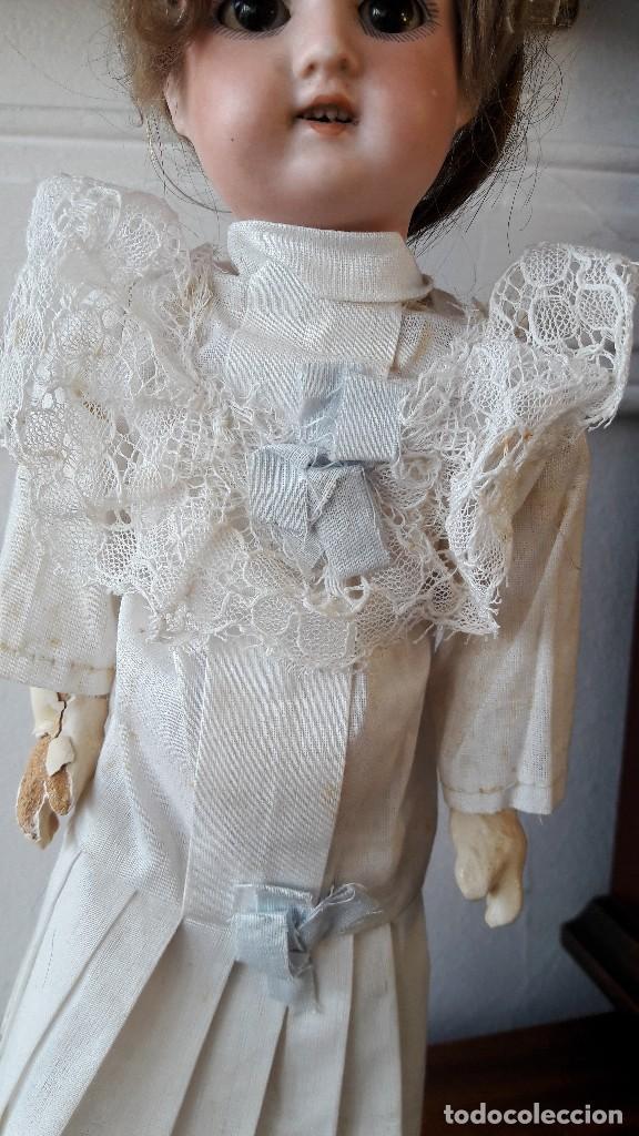 Muñecas Porcelana: Muñeca Florodora de Armand Marseille. Cabeza de biscuit y cuerpo de composicion - Foto 3 - 244457505