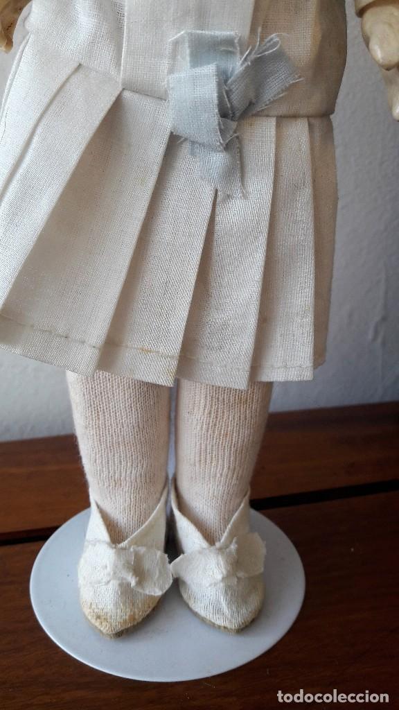 Muñecas Porcelana: Muñeca Florodora de Armand Marseille. Cabeza de biscuit y cuerpo de composicion - Foto 4 - 244457505