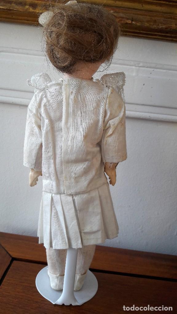 Muñecas Porcelana: Muñeca Florodora de Armand Marseille. Cabeza de biscuit y cuerpo de composicion - Foto 5 - 244457505