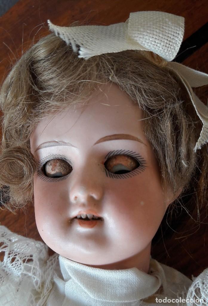 Muñecas Porcelana: Muñeca Florodora de Armand Marseille. Cabeza de biscuit y cuerpo de composicion - Foto 6 - 244457505