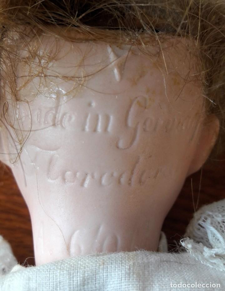 Muñecas Porcelana: Muñeca Florodora de Armand Marseille. Cabeza de biscuit y cuerpo de composicion - Foto 7 - 244457505