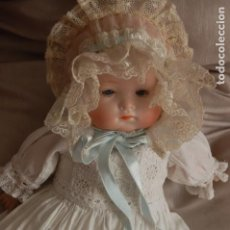 Muñecas Porcelana: BEBÉ HERMANN STEINER BOCA CERRADA. Lote 127538519