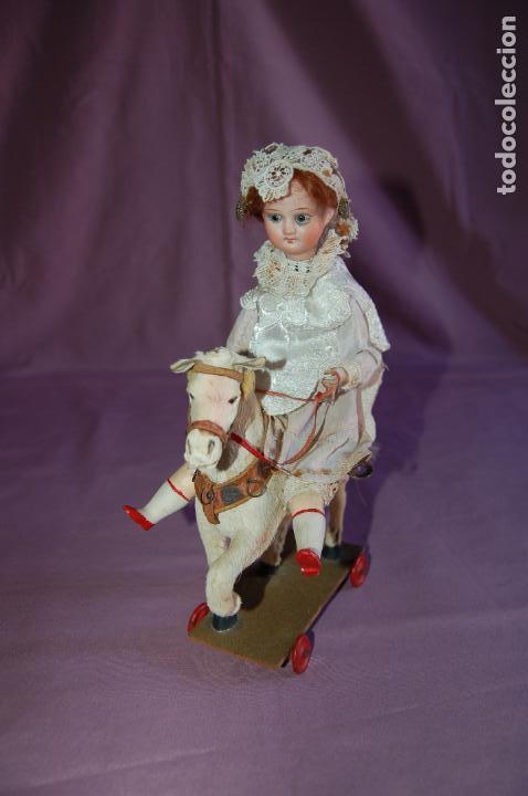 Muñecas Porcelana: automata a cuerda alemán? funciona - Foto 3 - 127571667
