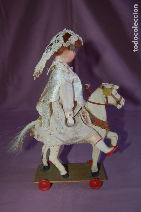 Muñecas Porcelana: automata a cuerda alemán? funciona - Foto 4 - 127571667