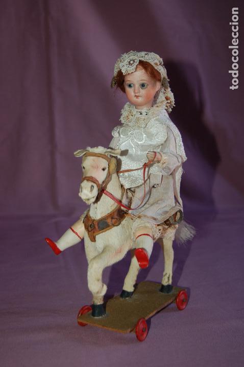 Muñecas Porcelana: automata a cuerda alemán? funciona - Foto 9 - 127571667