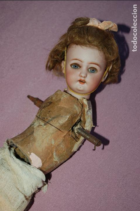 Muñecas Porcelana: muñeca automata ondina nadadora simon halbig - Foto 2 - 127578331