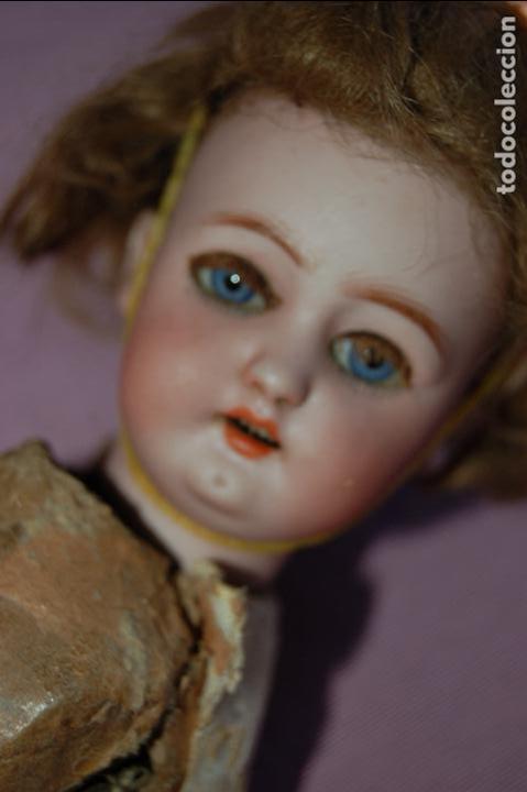 Muñecas Porcelana: muñeca automata ondina nadadora simon halbig - Foto 4 - 127578331