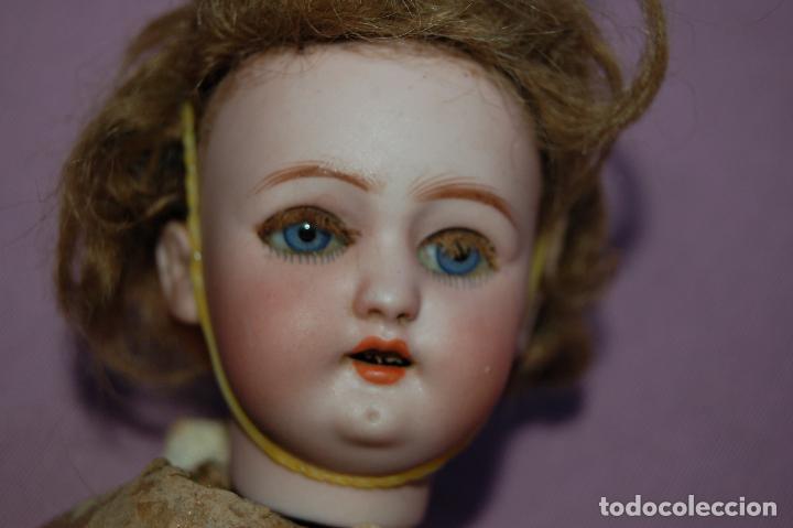 Muñecas Porcelana: muñeca automata ondina nadadora simon halbig - Foto 5 - 127578331