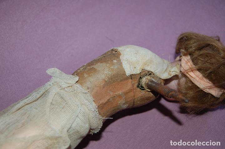 Muñecas Porcelana: muñeca automata ondina nadadora simon halbig - Foto 6 - 127578331