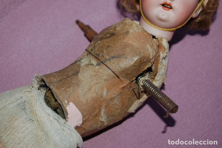 Muñecas Porcelana: muñeca automata ondina nadadora simon halbig - Foto 8 - 127578331