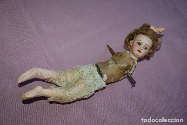 Muñecas Porcelana: muñeca automata ondina nadadora simon halbig - Foto 9 - 127578331