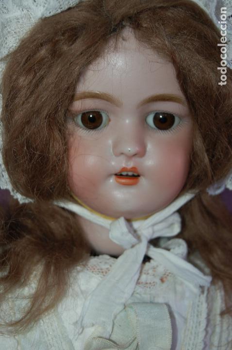 Muñecas Porcelana: automata a cuerda Fleischmann & Bloedel cabeza simon halbig - Foto 3 - 127579715