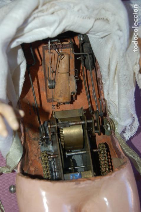 Muñecas Porcelana: automata a cuerda Fleischmann & Bloedel cabeza simon halbig - Foto 4 - 127579715